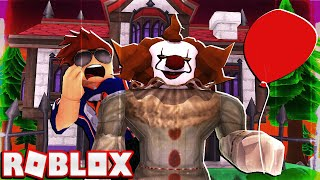 DON'T GO CAMPING AT A CIRCUS 🎪 (Especially with a Clown) -- ROBLOX