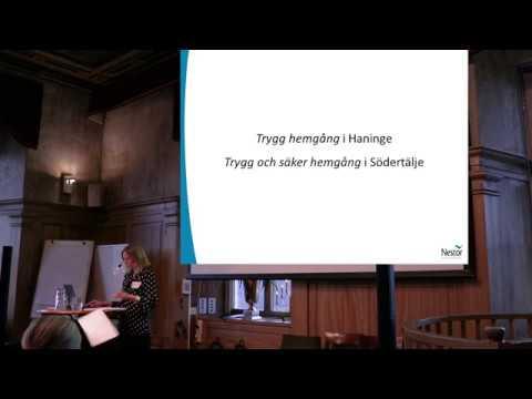 En eftermiddag om trygg hemgång del 2/3 - presentation av Helena Vidberg, Nestor FoU-center