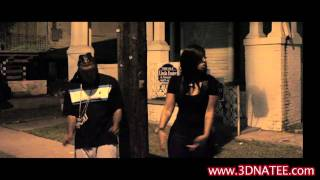 Na'Tee- Behind the Scenes footage of Lil Cali's Hustle Hard Video ft Na'Tee