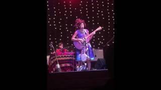 """Valerie June """"The Hour"""" Bethlehem NH 6/5/16"""
