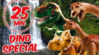⭕ Playmobil Dinosaurier Special - Triceratops, Brachiosaurus und T-Rex - Pandido TV