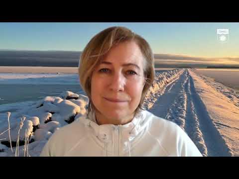 Kristina Sundin Jonsson informerar om det aktuella läget, onsdag 10 mars