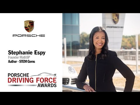 Porsche Driving Force Award Honoree Stephanie Espy