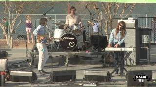 "Beach House ""Wedding Bell"" at Auditorium shores | Music 2009 | SXSW"