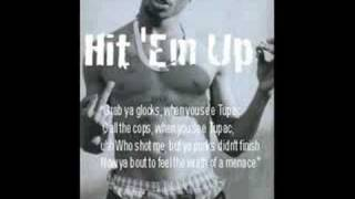 Instrumentals 2pac - Hit' em up