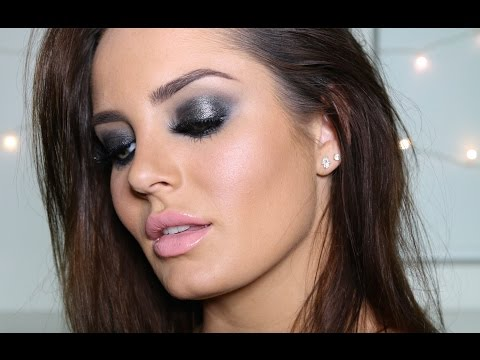 Dramatic GLOSSY Smokey Eye! \ ChloeMorello