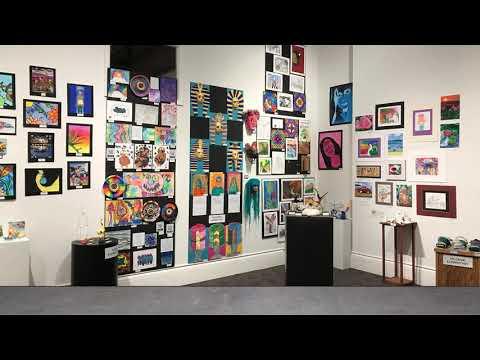 2020 Youth Art Month Virtual Exhibit Slideshow