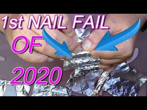 FIRST FAILED NAIL DESIGN OF 2020 | #NailFail | ABSOLUTE NAILS