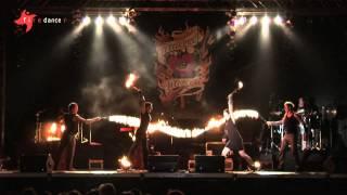 FIREDANCER in CONCERT feat. Leo Rojas (Supertalent 2011)
