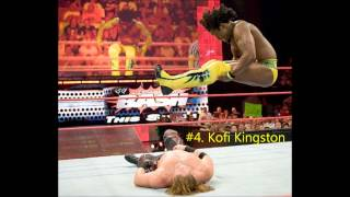 Top 5 WWE wrestlers