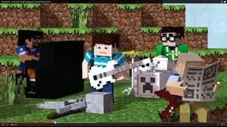 Cartoon- On & On (Minecraft Music Video)