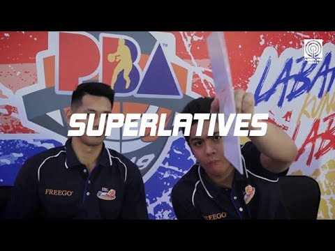 Superlatives Game with the Rain or Shine Elasto Painters | PBA Exclusives