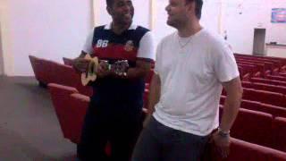 Marcio Pinheiro & Pastor Silas Moura ( Ele nao Desiste de você)