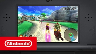 Mario Sports Superstars – At the races trailer (Nintendo 3DS)