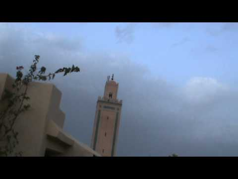 Breaking the Ramadan fast: The evening call to prayer in Marrakech, Morocco