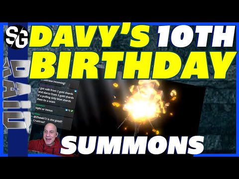 RAID SHADOW LEGENDS | BIRTHDAY SUMMONS | DAVY TURNS 10. AMAZING PULLS. HAPPY BIRTHDAY BUDDY