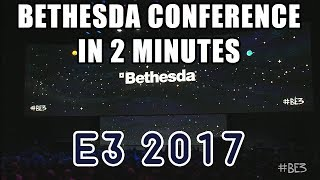 E3 2017 | BETHESDA CONFERENCE IN A NUTSHELL
