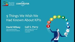 KPI's: 9 Things to Known
