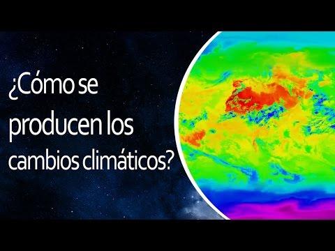 ¿Cómo se producen los cambios climáticos?