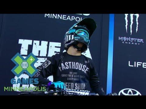 Tyler Bereman wins Moto X QuarterPipe High Air silver | X Games Minneapolis 2017