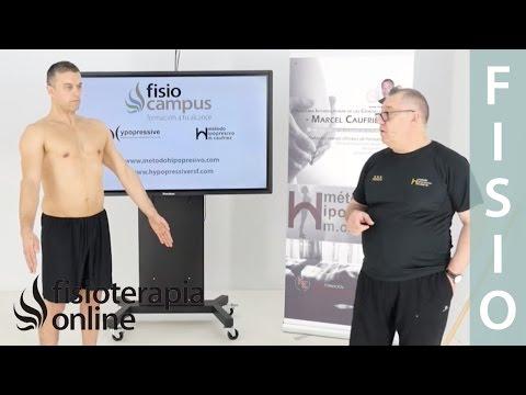 Primer ejercicio ortoestático programa base, etapa 4. Marcel Caufriez Método hipopresivo