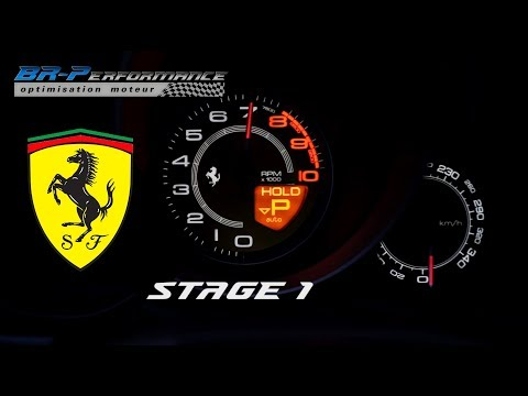 Ferrari California 4.3 V8 Stage 1 By BR-Performance