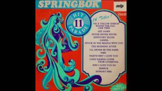 Springbok Hit Parade Vol.11 (1973) - Track A-01. Tie A Yellow Ribbon Round The Ol Oak Tree, HQ