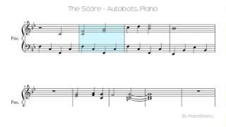 The Score - Autobots [Piano Solo]