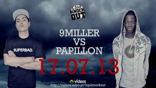 Liga Knock Out / EarBOX Apresentam: 9 Miller vs Papillon (TEASER)