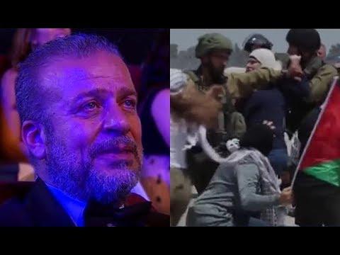 """القدس – تعليق  الفنان """" شريف منير """" عن فيديو شجاعة  الفلسطينيين في مواجهة الاحتلال الإسرائيلي"""