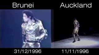 Michael Jackson - Scream Live Brunei vs Auckland 1996 - HIStory World Tour
