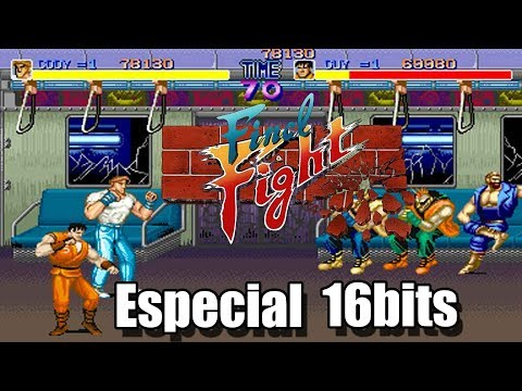 Final Fight 16 bits