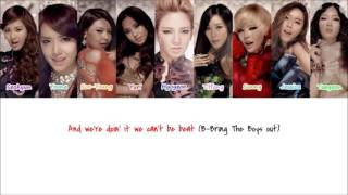 {Re-Uploaded} SNSD The Boys (English Ver.) Color-Coded Lyrics