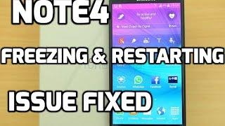 Samsung Galaxy Note 4 Restarting 2017 Permanent FIX 100% WORKING