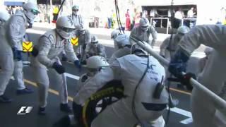 El 'pit stop' más rápido de la F1