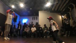 Hammer vs YASUHA BEST16 / One'z PRIDE vol.2 LOCK DANCE BATTLE