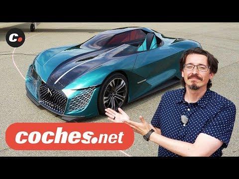 DS X E-Tense | Concept Car Eléctrico | Prueba / Test / Review en español | coches.net