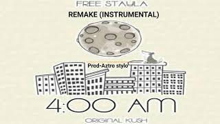 Free stayla -4:00 AM-(Intrumental -guitarra sad (Remake) ||prod-🎹Aztro Stylo||