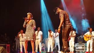 FALLY IPUPA feat LYNSHA Duo d'enfer...live abidjan kobosanna te