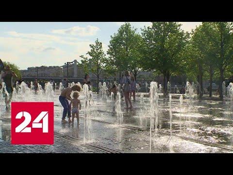 В Москве до вечера продлен оранжевый уровень погодной опасности - Россия 24 