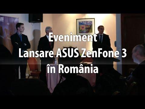 Lansare ASUS ZenFone 3 în România (ZenFone 3 Max, ZenFone 3 Deluxe, ZenFone 3 Ultra şi ZenFone 3)