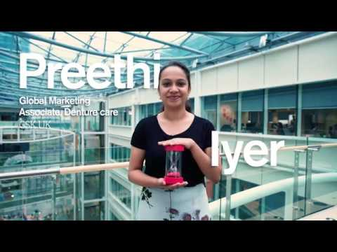 Preethi, Global Marketing Associate for Denture Care