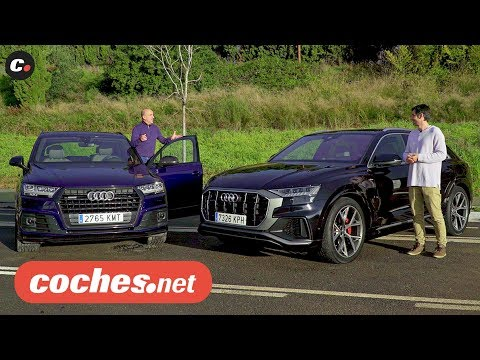 Comparativa Audi Q7 vs Audi Q8 SUV | Prueba / Test / Review en español | coches.net