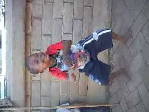 Make the circle bigger ( A child in the northern cape South Africa dacing to the song)