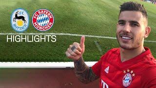Hernández' Debut at FC Bayern's 23-0 against FC Rottach-Egern |Highlights