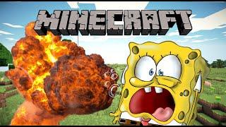 minecraft- exploding sponsbob