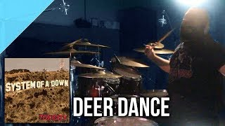 "System of a Down - ""Deer Dance"" drum cover by Allan Heppner"
