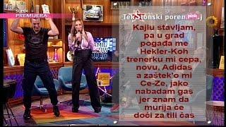 TekStonski poremecaj - Anabela i Gagi Fanky G - Samo u snu (Ami G Show S09)
