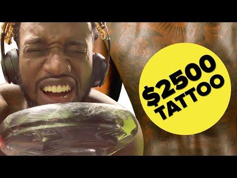 I Got A $2,500 Tattoo In Thailand