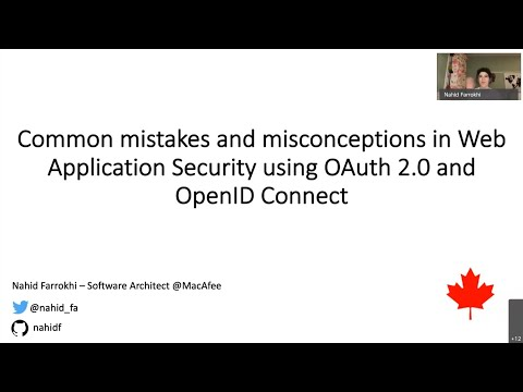 Common mistakes and misconceptions in Web App Security using OAuth 2.0 and OpenId Connect
